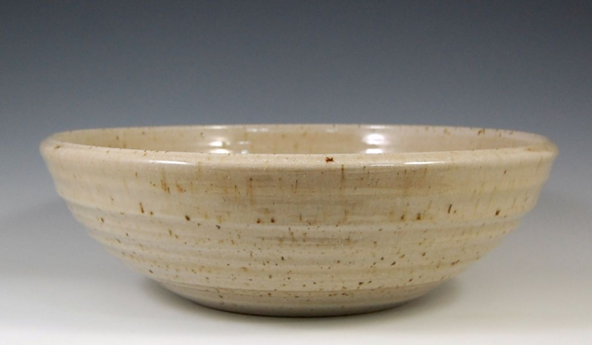 Brandon Vessel sink in French Vanilla Glaze
