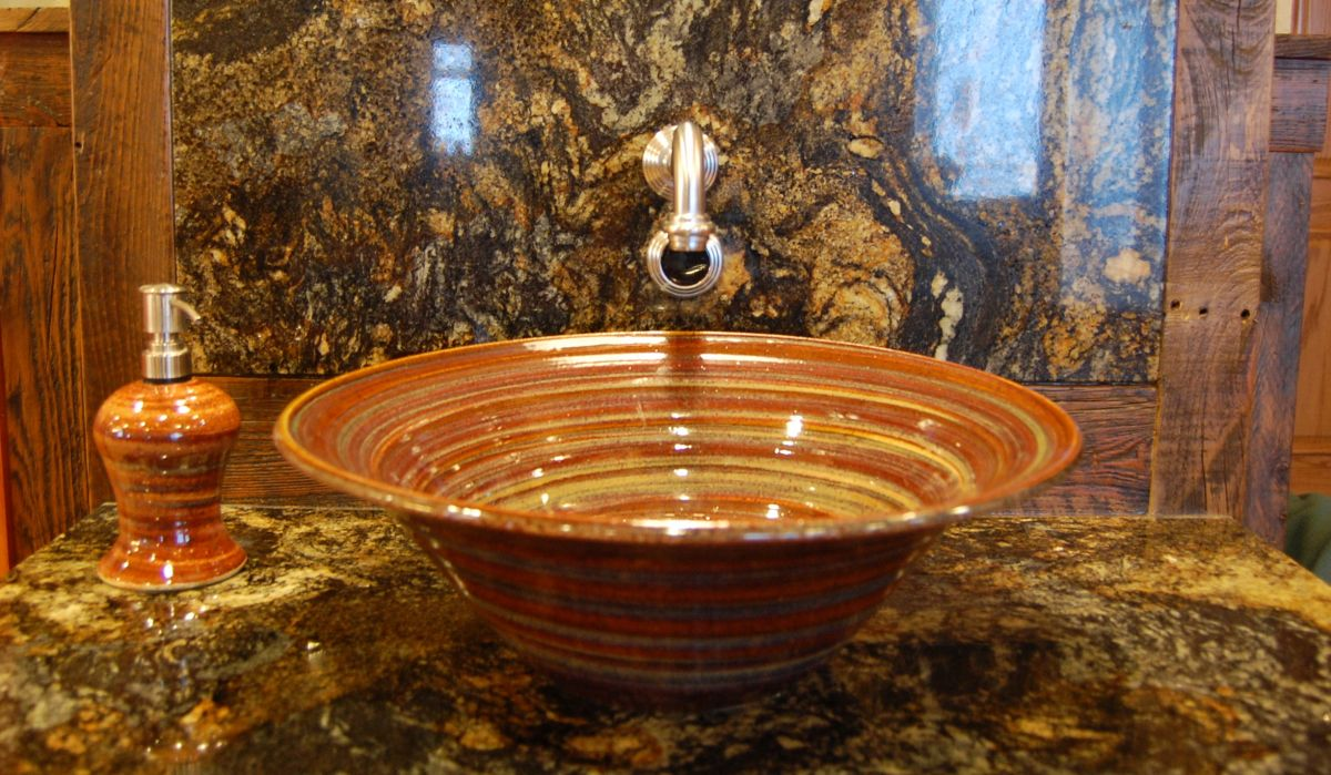Greatest Pottery Sinks | Unique Bathroom Sinks | Small Bathroom Sinks  OF28